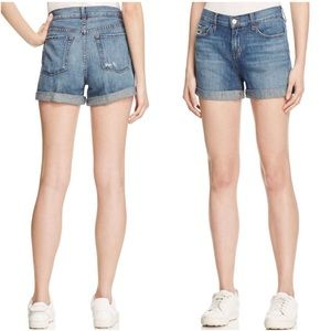 J Brand Joey Distressed Denim Shorts in Westerly